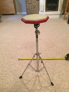 Supra practice pad and stand