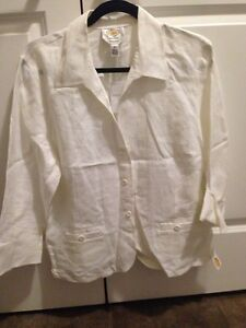 NWT Talbots dress shirt / blazer 16