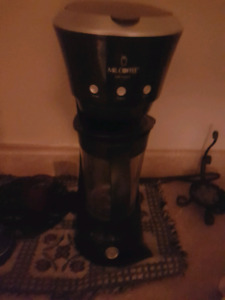 Coffee maker and blender in one