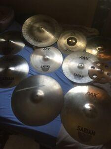 Zildjian/Sabian Cymbals