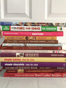 REDUCED - Cook Book assortment - Total of 14 books
