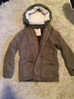 *Selling* Olive TNA Griffith Military Winter Jacket Small