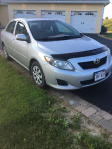 REDUCED !  2010 Corolla   MVI Until April 2020