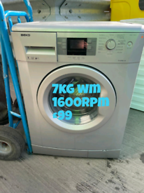 Beko 7kg washing machine free delivery in Coventry