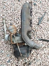 Audi Petrol V6 Bi Turbo and manifold