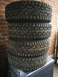 """Four """"New"""" Winter Tires"""