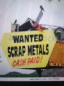 WANTED SCRAP METAL TOP PRICES PAID FREE COLLECTION ALL LONDON AREAS