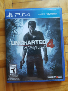 Uncharted 4: A Thief's End [PS4]