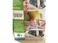 Mamas and papas baby snug with toy tray