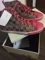 BRAND NEW COACH SHOES 8.5