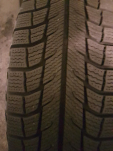 215/70/15 Michelin winter tires well over 90% remaining