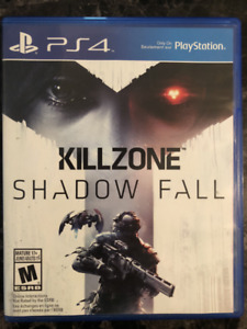 PS4 GAME KILL ZONE-SHADOW FALL