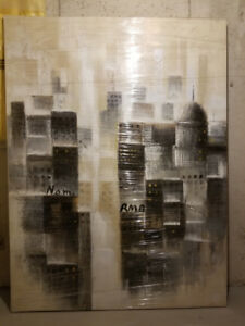 Structube wall art painting