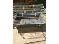 Rodent hutch cage