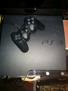 Playstation 3 with 2 wireless controlers
