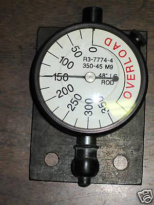 Dial Indicator R3-7774-4 350-45 M9 48 Lg Rod R1-7769