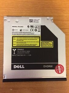 Dell DVD-RW Drive, low profile for laptop of small form PC
