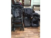 Graco Quattro Tour Deluxe Travel system pushchair
