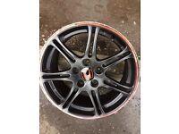 Alloy wheel for honda civic type R