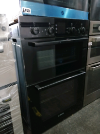 ➡️➡️SALE⬅️⬅️ BLACK BOSCH HBN43M561B BUILT IN ELECTRIC DOUBLE OVEN