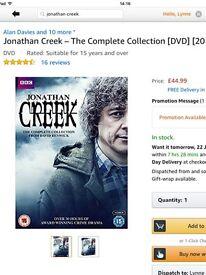 Jonathan creek complete collection