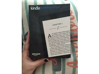 Amazon Kindle 2015 Paperwhite 6 inch 4 GB Wi-Fi e-book reader black used once