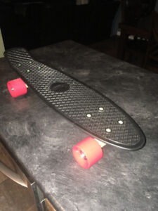 "Never used, ""Penny"" skateboard."