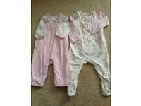 Two MOTHERCARE outfits 3-6 months in great condition