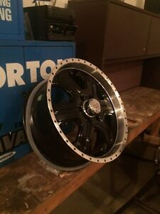 "20"" wheels for Ford F-150 6 bolt."