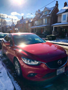 Mazda 6 GS Model 2.5L engine 2015, Excellent Condition, Leather