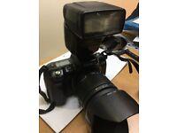 Minolta dynax 700si slr 35mm camera with lens