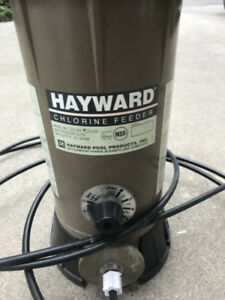 hayward chlorine feeder cl220ef