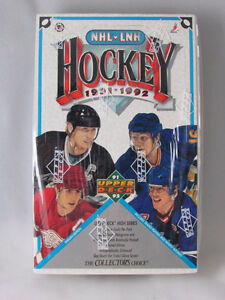 1991 1992 UPPER DECK NHL HOCKEY HIGH SERIES BOX