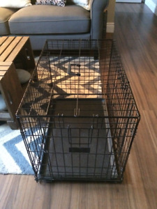 Top Paw Double Door Wire Dog Crate/kennel