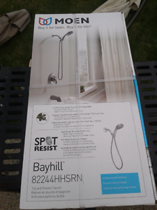 Moen Bayhill 1 handle Posi-Temp tub/shower faucet.