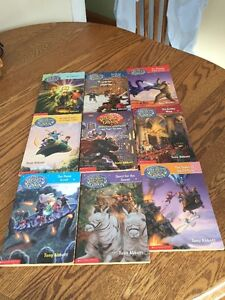 Secrets of Droon Set of 9 Scholastic Books
