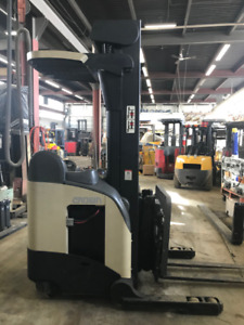 Double Deep Reach Forklift   in remarkable condition.