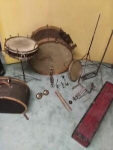 1930's Leedy Drum Set