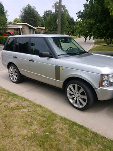 2005 Range Rover Hse 165000km safetied and etested
