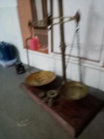 W&t Avery brass scales