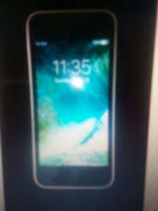apple iphone 5c white-16gb+case