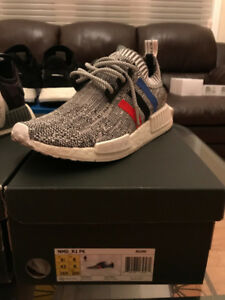 Size 8.5 Grey Tri-Colour NMD R1; contact for more pics