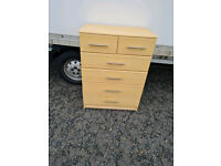Oakwood 2 over 4 chest of drawers £75