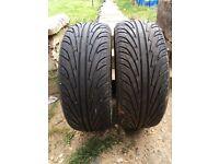 Part worn 205/45r16 nangkang tyres