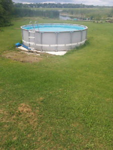 POOL 16 Round and 48 inches high