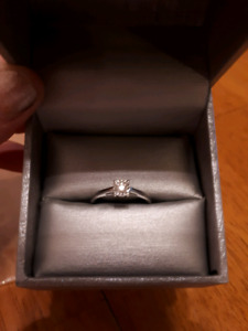 .15 ct Engagement Or Promise Ring Size 8