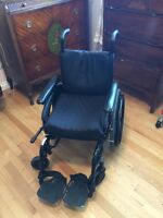 """Future Mobility Healthcare 16"""" wheelchair with Roho cushion"""