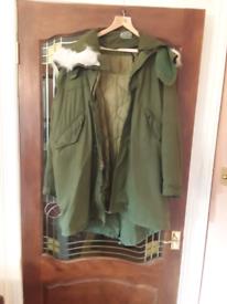 M65 American army fishtail coat