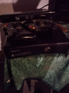 Xbox 360 2 controller amd kinect 3 kinect games
