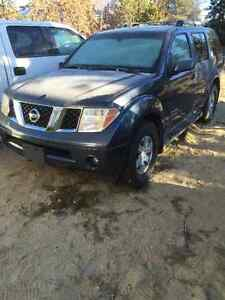 2005Nissan Pathfinder swap/trade for small travel  trailer